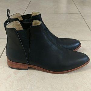 Nisolo | Black Chelsea Boot | Size 10